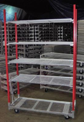 "Super Deal - 21 x 57 Carts:  Base plus 4 Shelf and 89"" Posts"